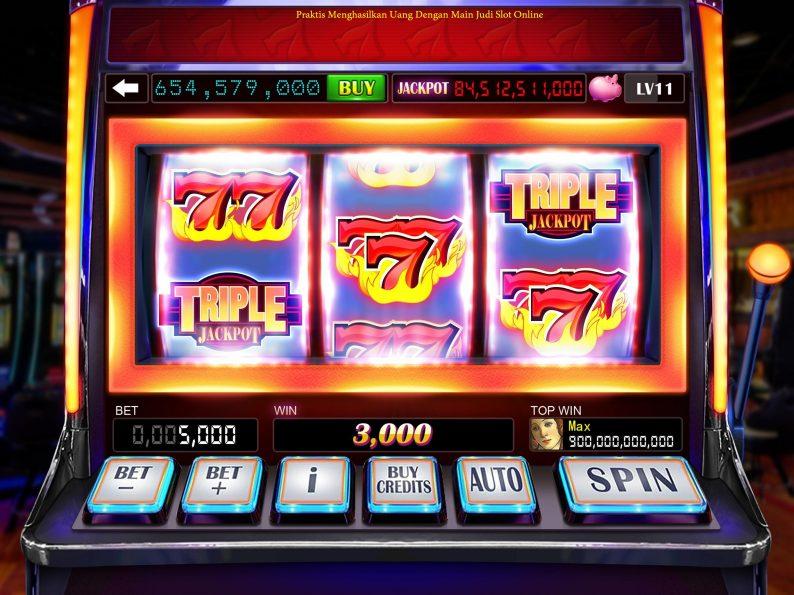 Praktis Menghasilkan Uang Dengan Main Judi Slot Online